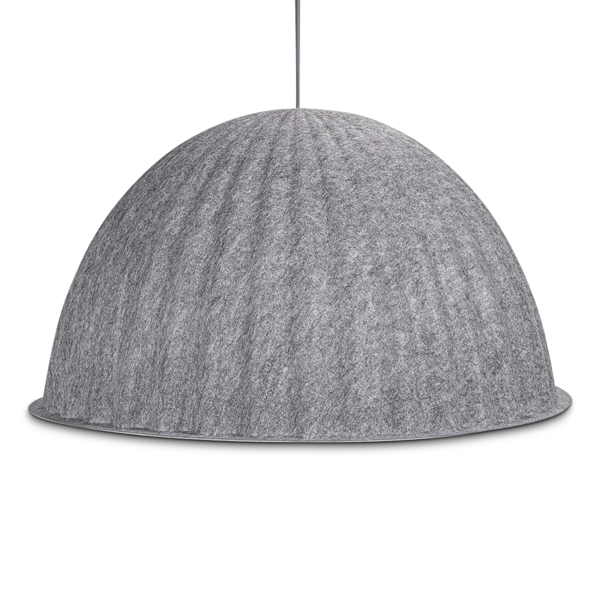 Image of   Muuto. Under the bell. Ø82 cm. Loftlampe. Grå filt.